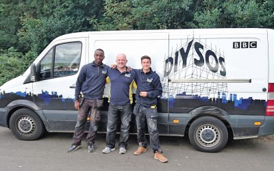 JTM Services Recently featured on DIY SOS!